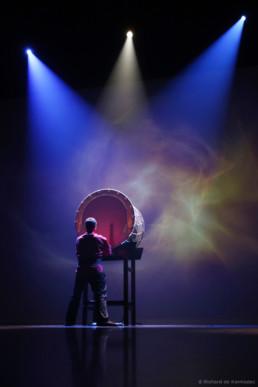Taiko show at Aix-en-Provence
