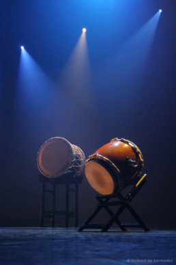 Wadaiko show at Aix-en-Provence
